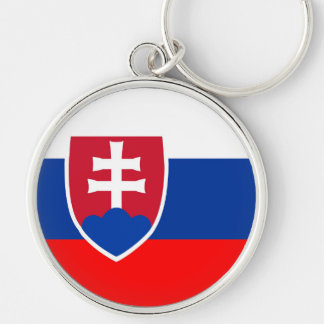 Slovakia country flag spanish nation symbol key ring
