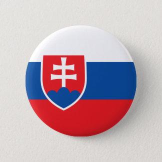 Slovakia Flag 6 Cm Round Badge