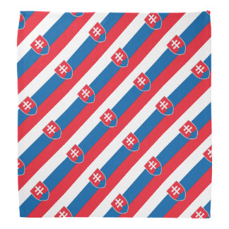 Slovakia Flag Bandana