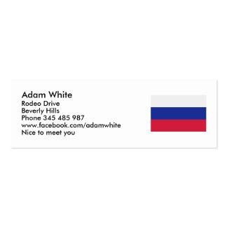 Slovakia flag business card templates