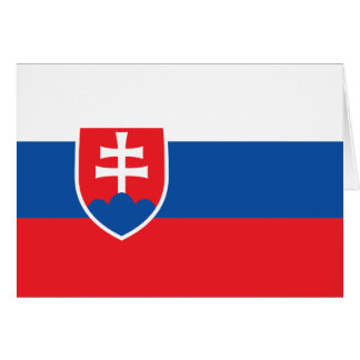 Slovakia Flag Card