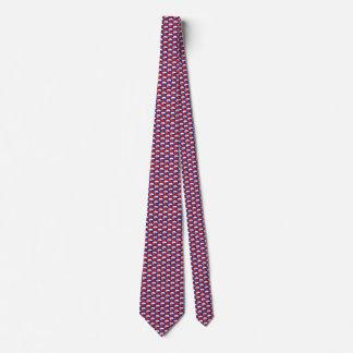 Slovakia Flag Honeycomb Tie