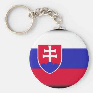 Slovakia Flag Key Ring