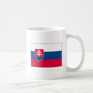 Slovakia Flag (light) Mug