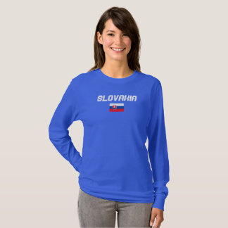 Slovakia Flag Shirt
