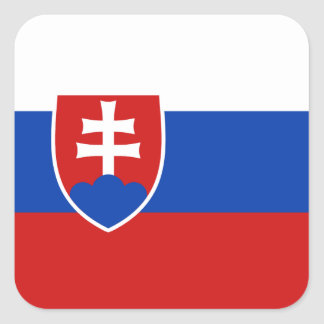 Slovakia Flag Sticker