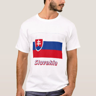 Slovakia Flag with Name T-Shirt