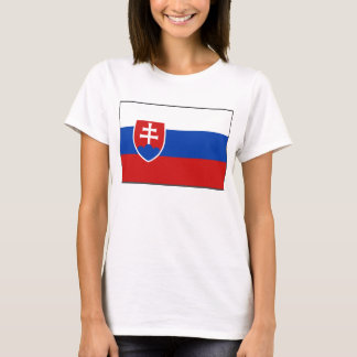 Slovakia Flag x Map T-Shirt