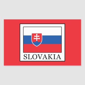Slovakia Rectangular Sticker