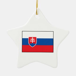 Slovakia – Slovak Flag Christmas Tree Ornament