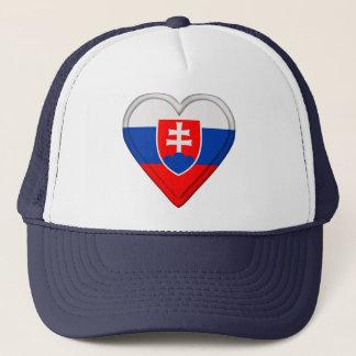 Slovakia Slovakian Flag Trucker Hat