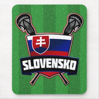 Slovakia Slovensko Lacrosse Mouse Pad