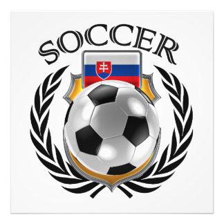 Slovakia Soccer 2016 Fan Gear Photographic Print