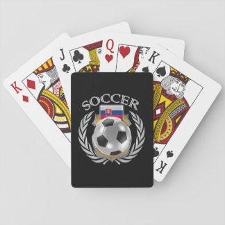 Slovakia Soccer 2016 Fan Gear Playing Cards