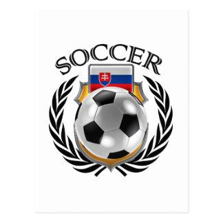 Slovakia Soccer 2016 Fan Gear Postcard