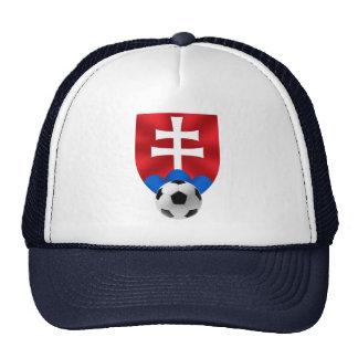 Slovakia soccer emblem for Slovaks worldwide Mesh Hat