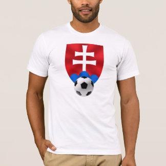 Slovakia soccer emblem for Slovaks worldwide T-Shirt