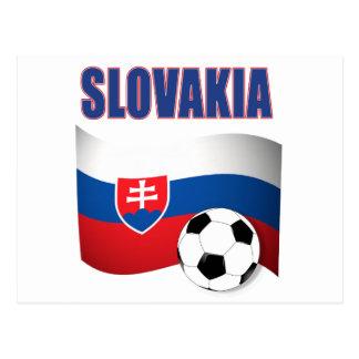 slovakia soccer football world cup 2010 postcard
