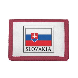 Slovakia Tri-fold Wallets