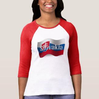 Slovakia Waving Flag T-Shirt