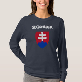 Slovakia with coat of arms T-Shirt