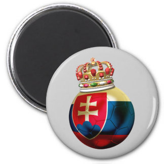 Slovakia World  Champion 6 Cm Round Magnet