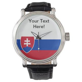 Slovakian Flag Watch