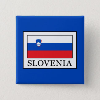 Slovenia 15 Cm Square Badge