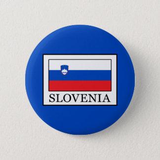 Slovenia 6 Cm Round Badge
