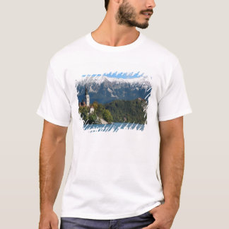 Slovenia, Bled, Lake Bled, Bled Island, Bled 2 T-Shirt