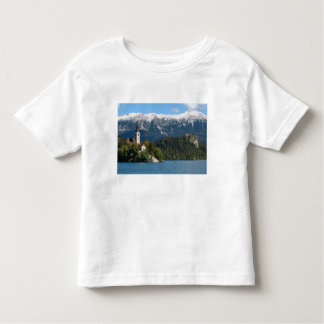 Slovenia, Bled, Lake Bled, Bled Island, Bled 2 Toddler T-Shirt
