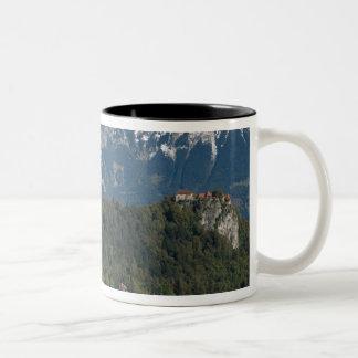 Slovenia, Bled, Lake Bled, Bled Island, Bled 2 Two-Tone Coffee Mug