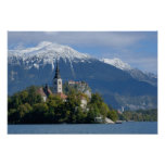 Slovenia, Bled, Lake Bled, Bled Island, Bled Posters