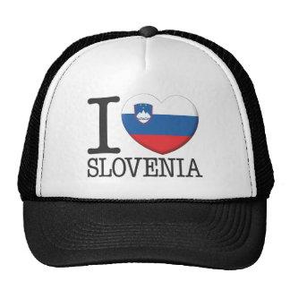 Slovenia Mesh Hat