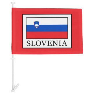 Slovenia Car Flag