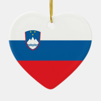 SLOVENIA CERAMIC HEART DECORATION
