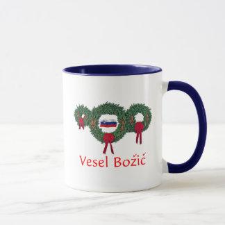 Slovenia Christmas 2 Mug