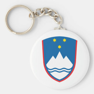 Slovenia coat of arms key ring