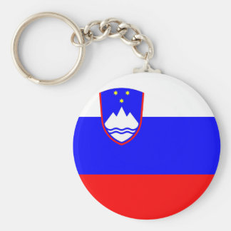 Slovenia country flag nation symbol key ring