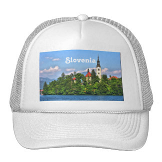 Slovenia Countryside Hat