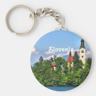 Slovenia Countryside Key Ring