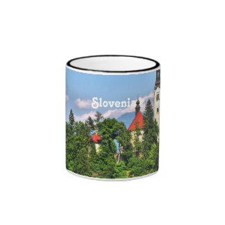 Slovenia Countryside Coffee Mugs