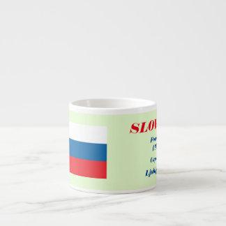 Slovenia Custom Espresso Cup