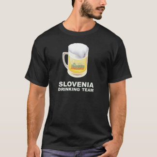 Slovenia Drinking Team T-Shirt