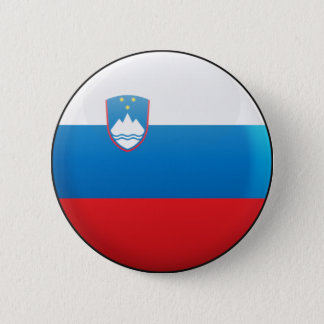 Slovenia Flag 6 Cm Round Badge