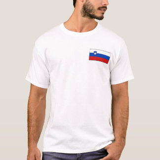 Slovenia Flag and Map T-Shirt
