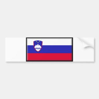 Slovenia Flag Bumper Sticker