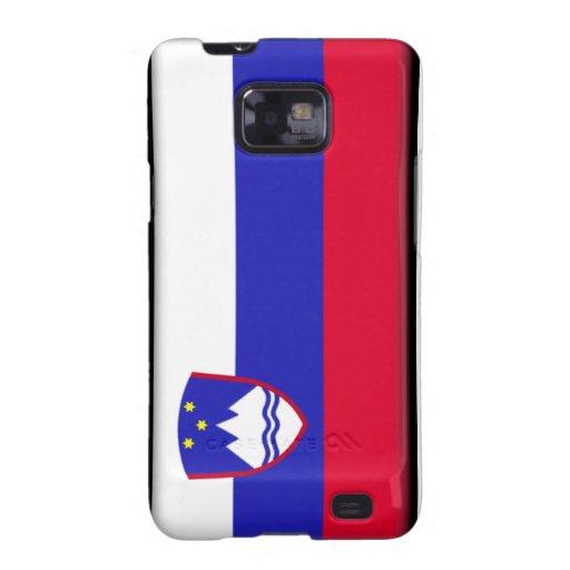 Slovenia Flag Galaxy SII Cases