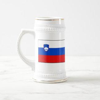 Slovenia Flag ~ Map Mug
