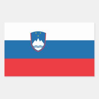 Slovenia Flag Rectangular Sticker